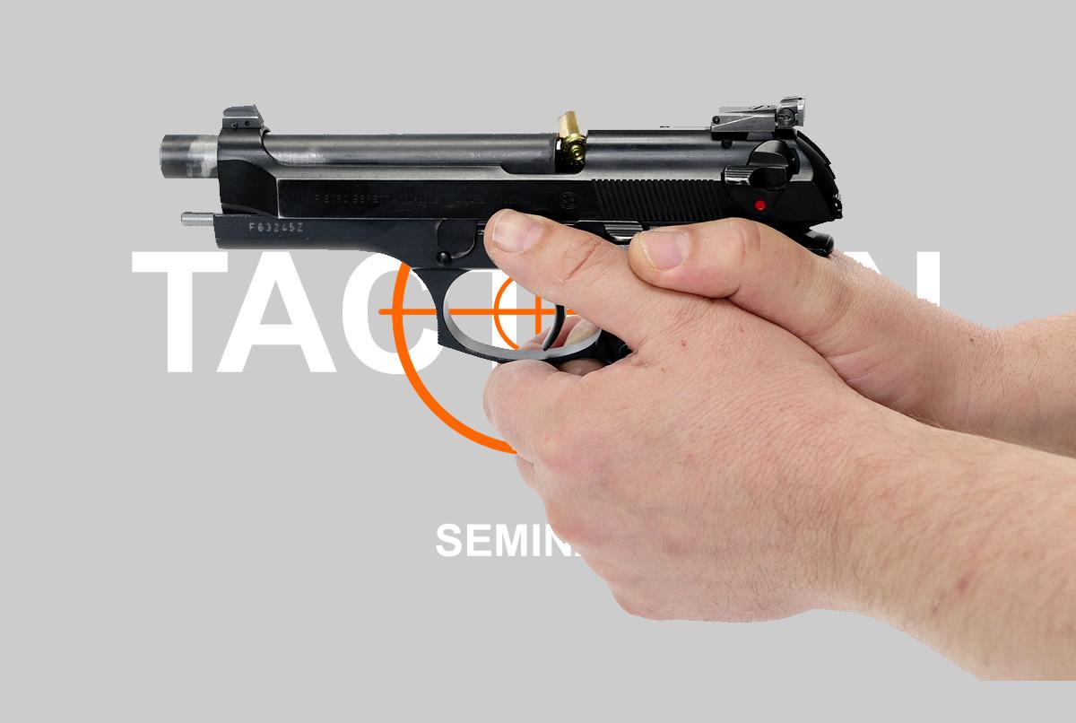 Tactrain-Seminare für Waffenhandhabung