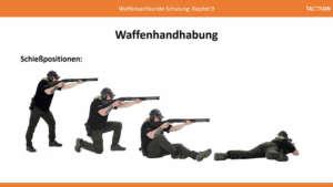 Waffensachkunde: Schießpositionen