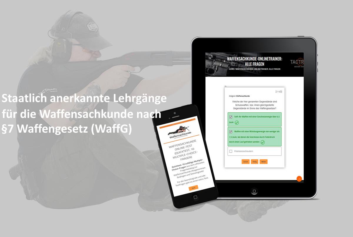 Lehrgang Waffensachkunde NRW